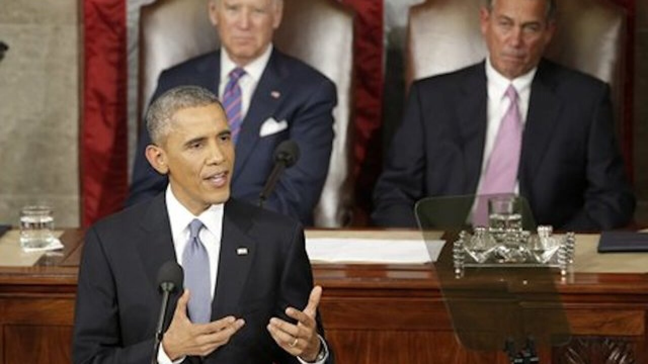 Obama reaches for upbeat outlook in final State of the Union