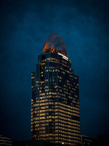 Cincygram: In and around Mehring Way in the night