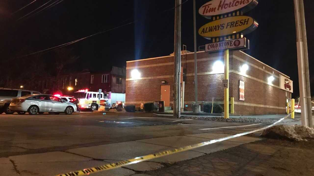 Man set woman on fire during domestic incident outside Tim Hortons in New York, police say
