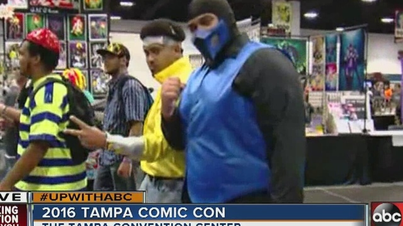 Tampa Comic Con in full force downtown