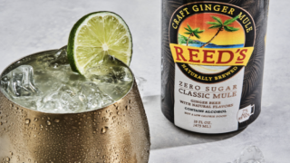 Moscow Mule Cocktail In A Can Contains Zero Sugar