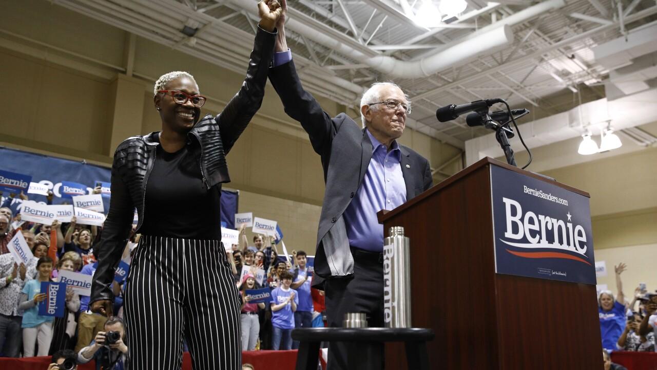 Bernie Sanders, Nina Turner