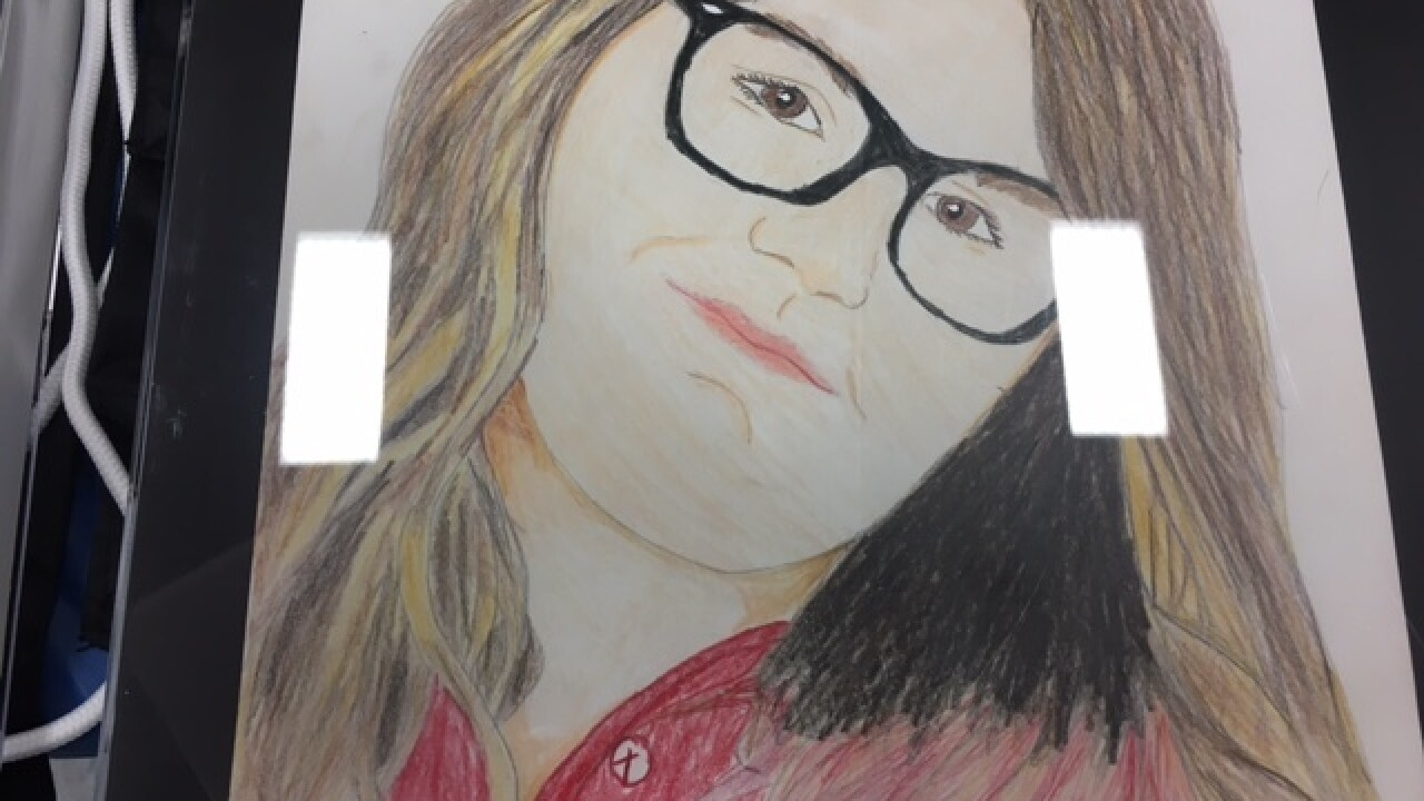 PICS: Student art project at IMPD Southwest