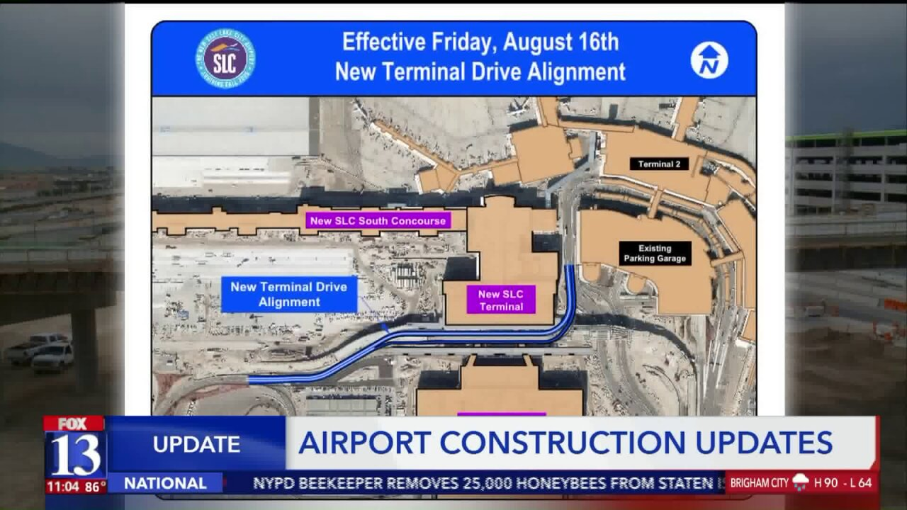 Big change on how to exit Salt Lake City International Airport coming nextweek