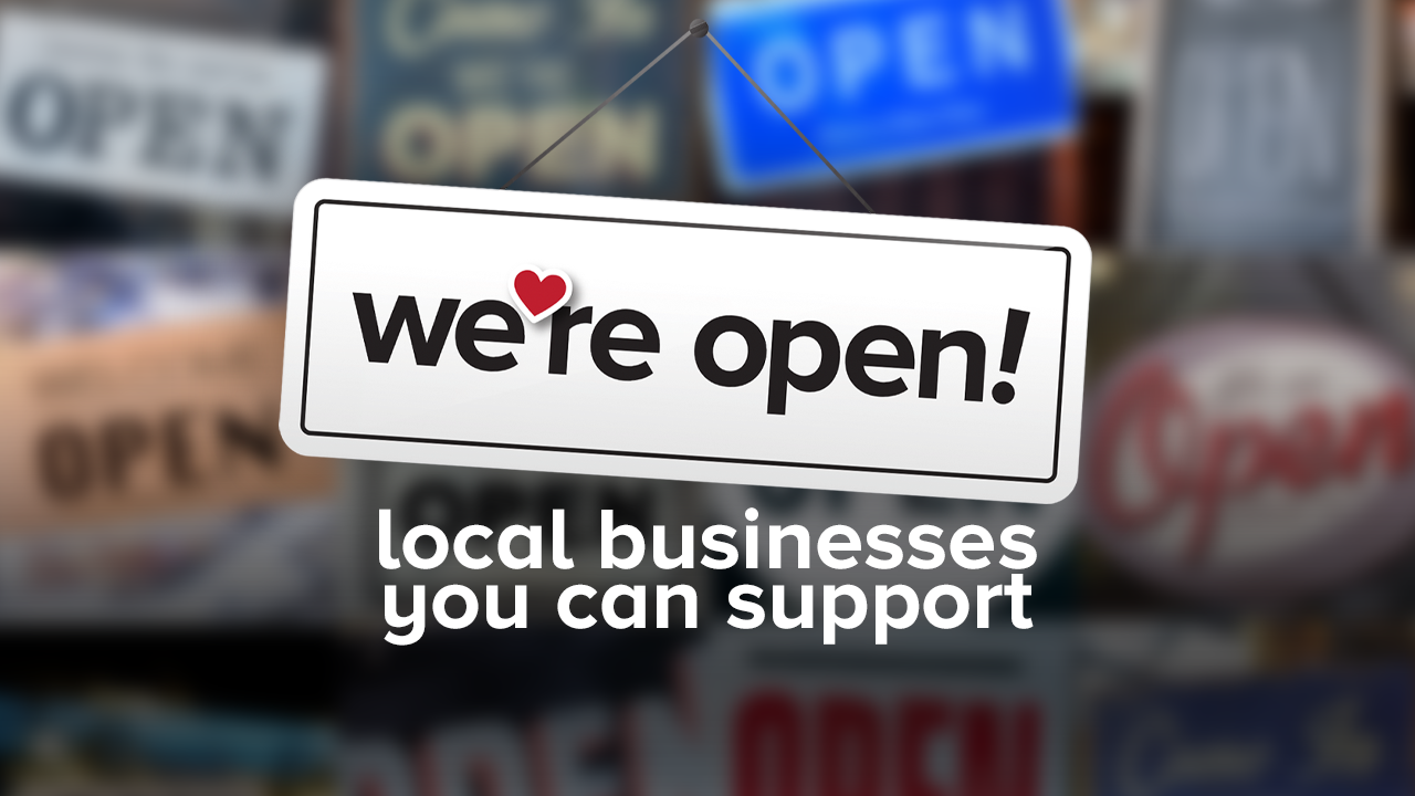 "Essential Businesses ""We're Open"""