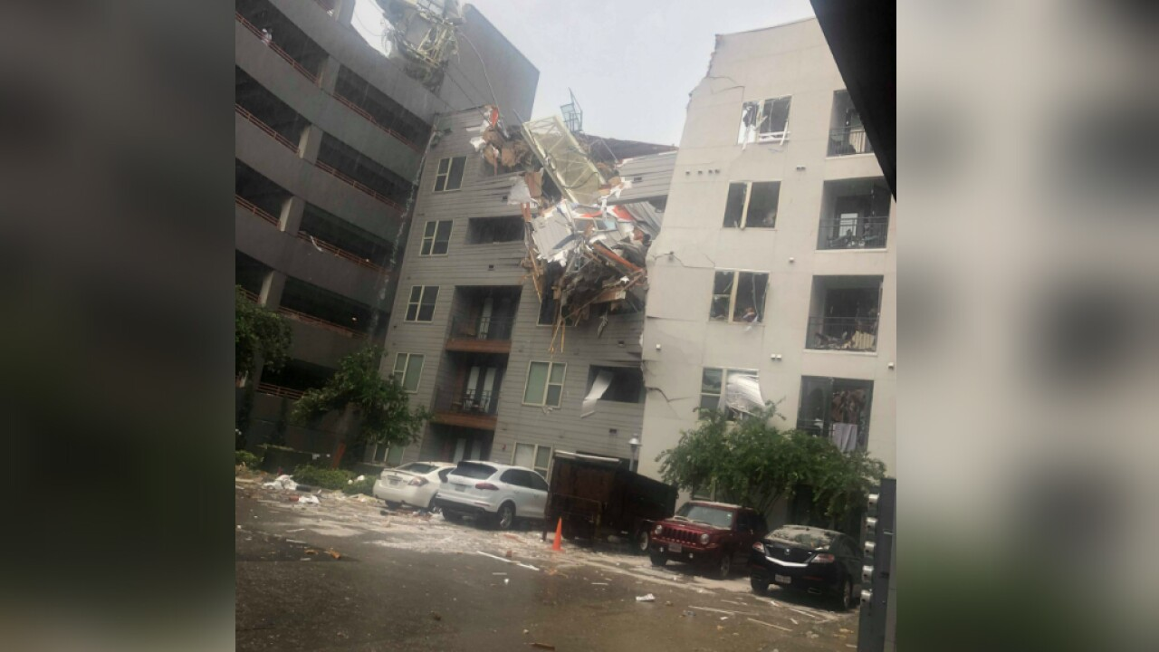 Apartment complex 'totally unusable' after deadly crane collapse