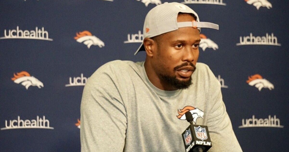 4124b04c Broncos' Von Miller not worried about new league rules or Manning ...
