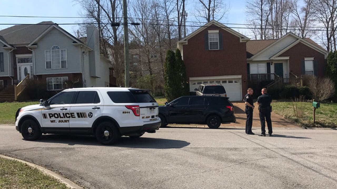 Mt. Juliet Police Search For Armed Suspect