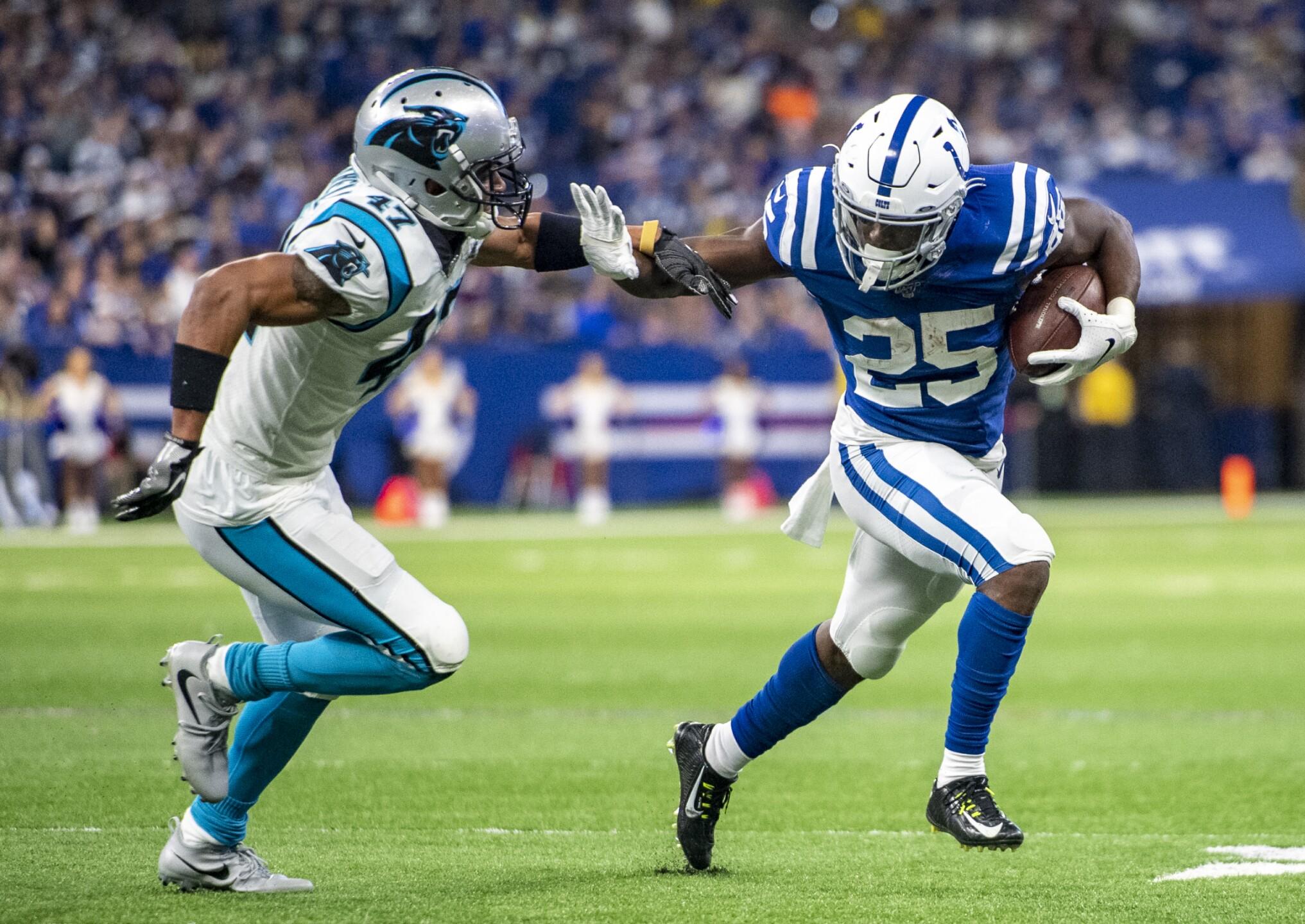 Carolina Panthers v Indianapolis Colts