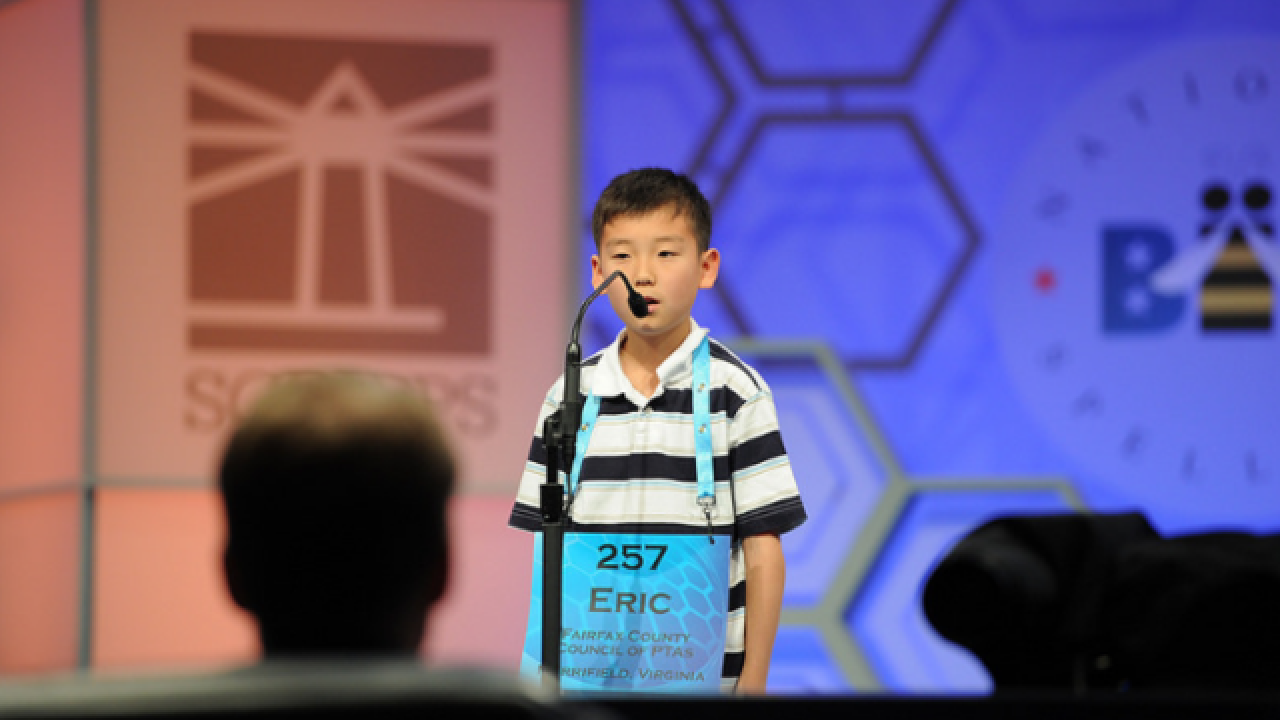 Watch: 360-degree video of Spelling Bee finale