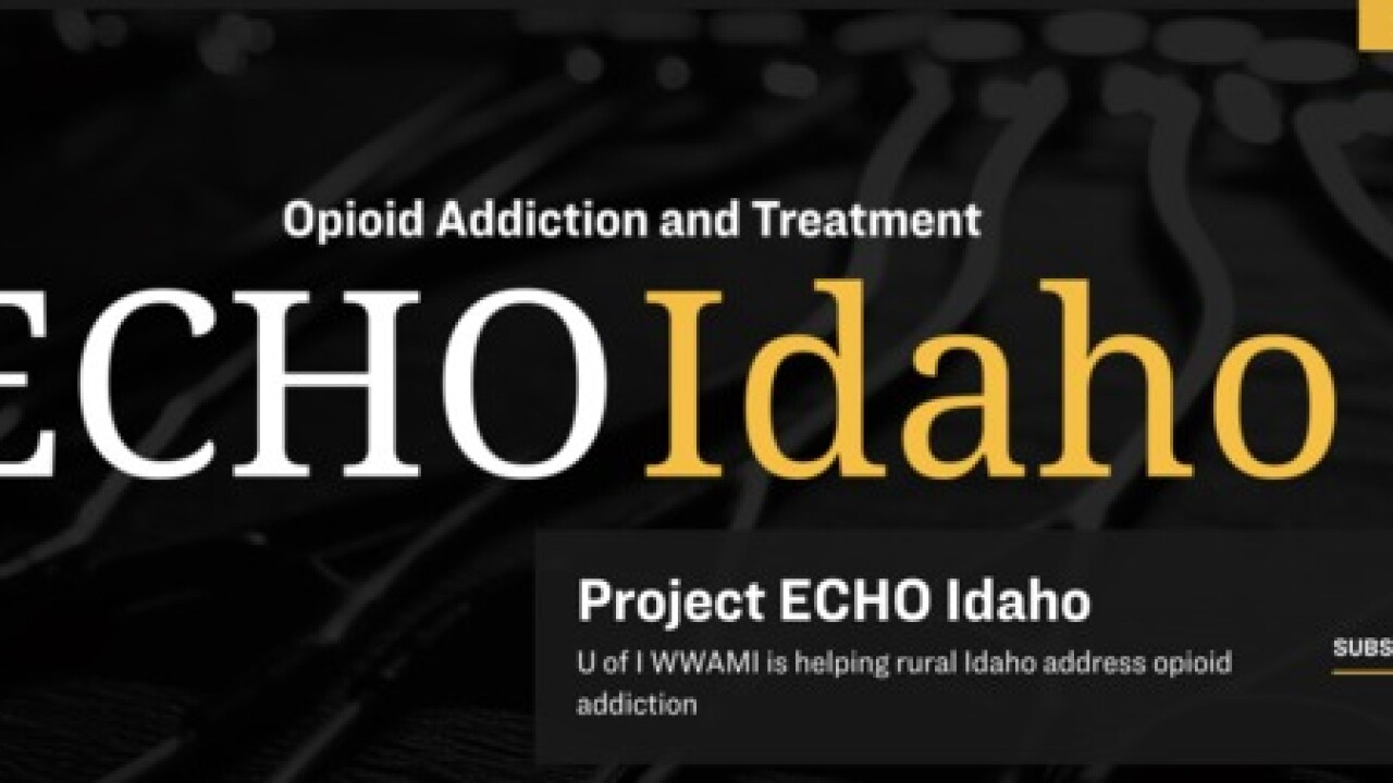 University of Idaho tackles opioid addiction through ECHO program