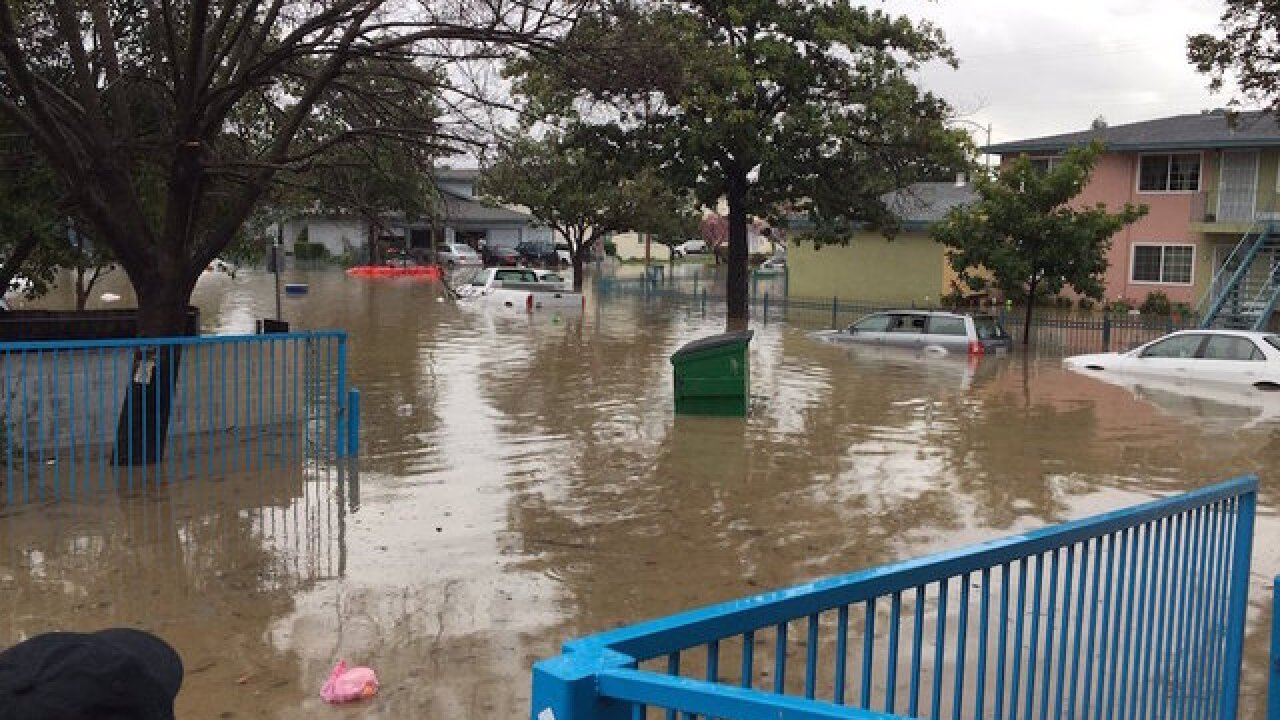 Flood evacuations underway in San Jose