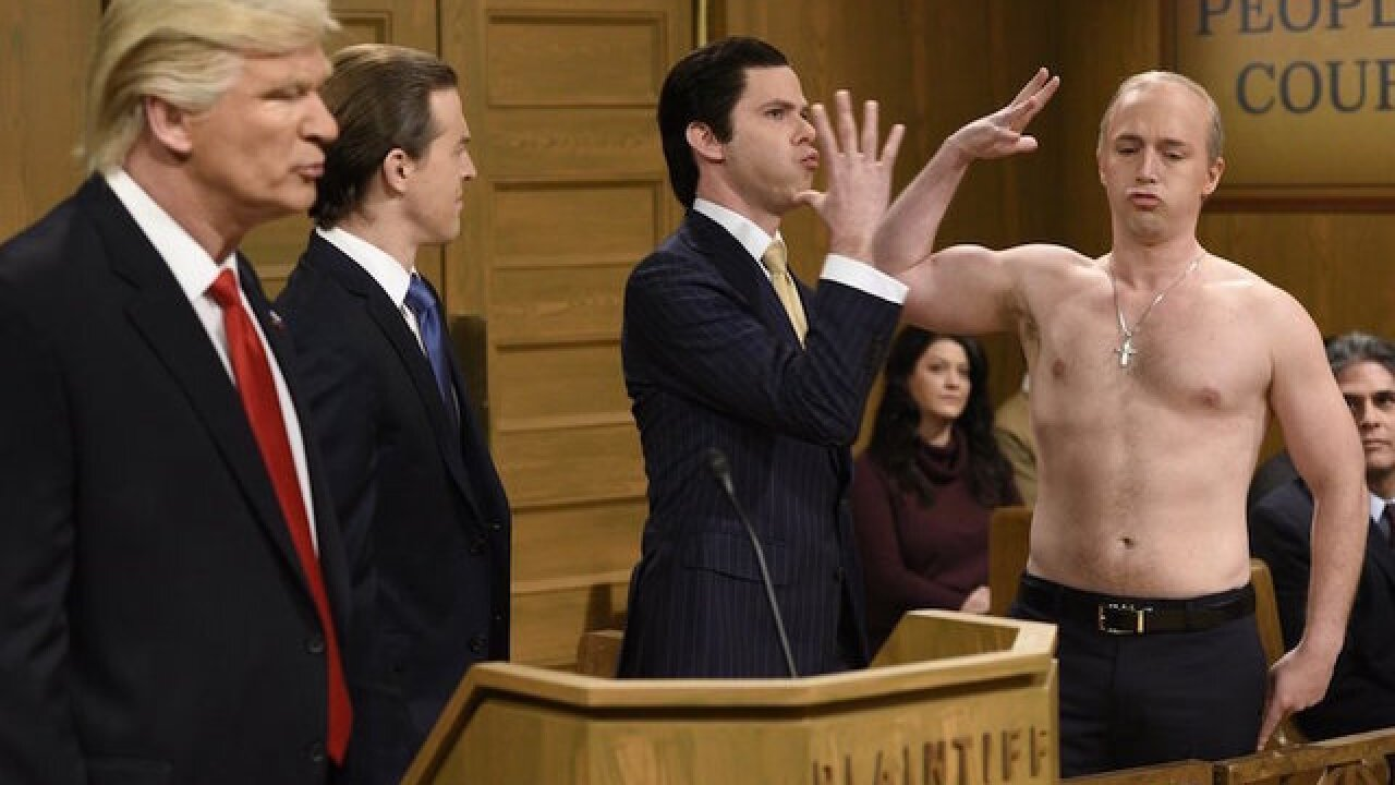 'SNL' gives Alec Baldwin's Trump his day in court