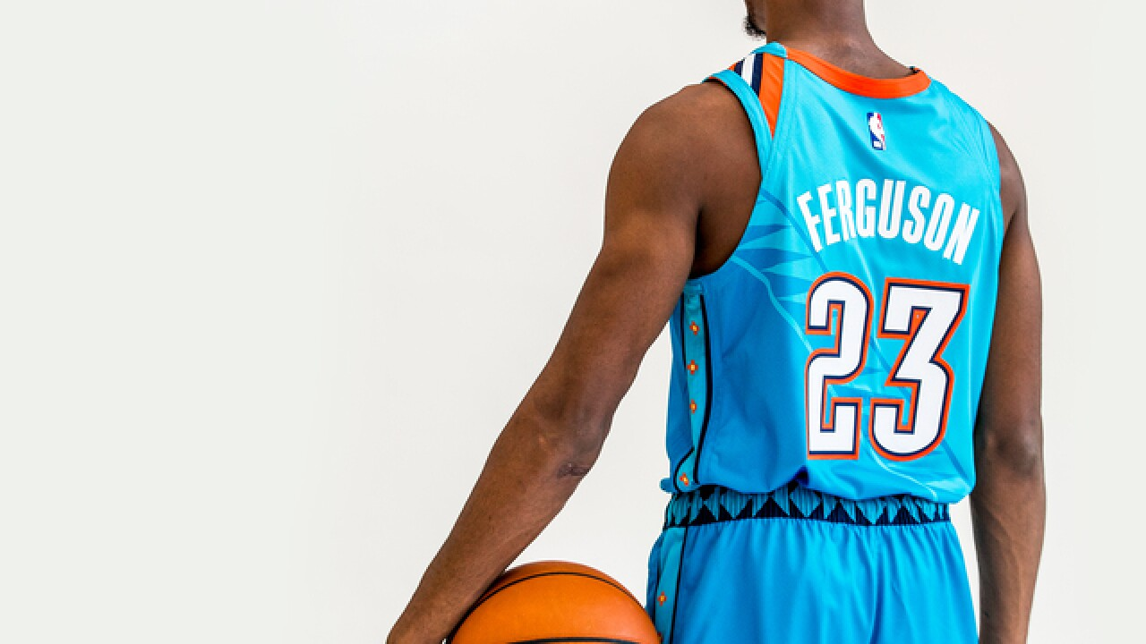 Thunder unveil uniforms honoring Native American