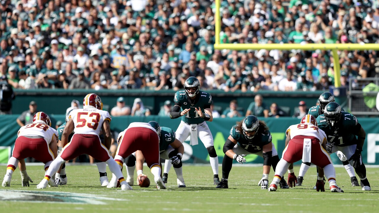 In search of first division win, Redskins host Eagles in NFC East duel