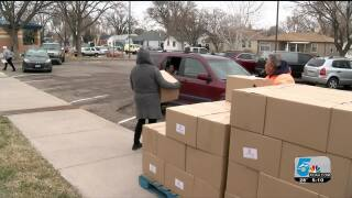 D60 & Care and Share Food Bank team up to support the community
