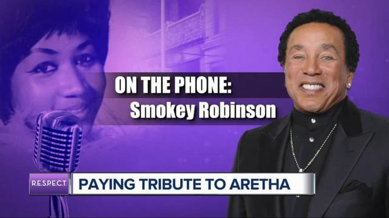 Smokey Robinson remembers Aretha Franklin ahead of her funeral