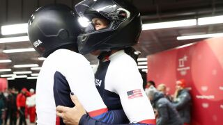 Team USA women pick up bobsled silver