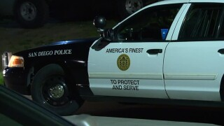 San Diego police sdpd cruiser