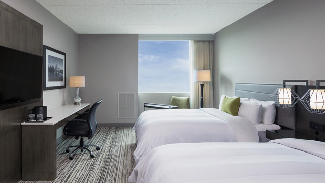 Marriott expansion reflects healthy hotel market