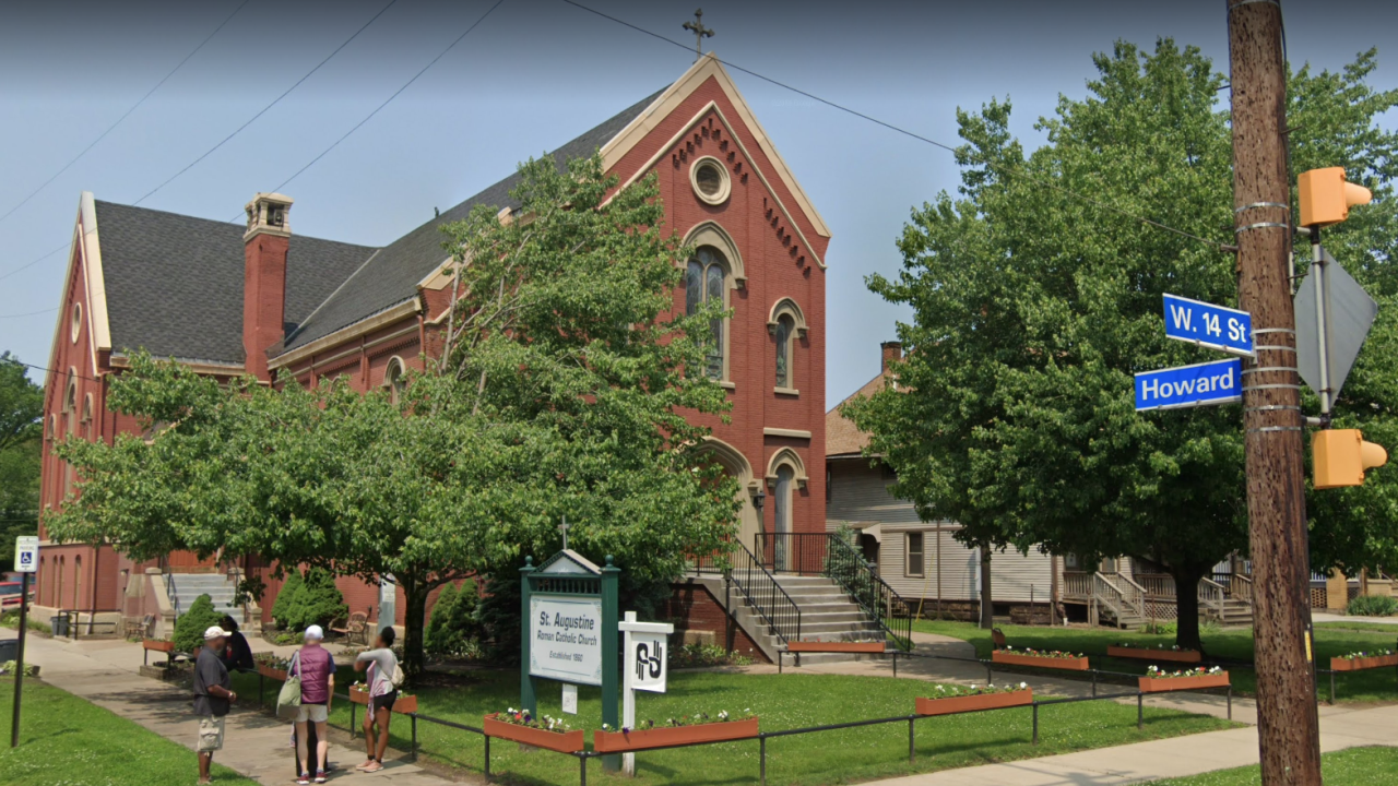 St. Augustine Hunger Center,  486 West 14th Street, in Cleveland