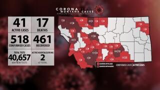 4 new COVID-19 cases (Monday, June 1)