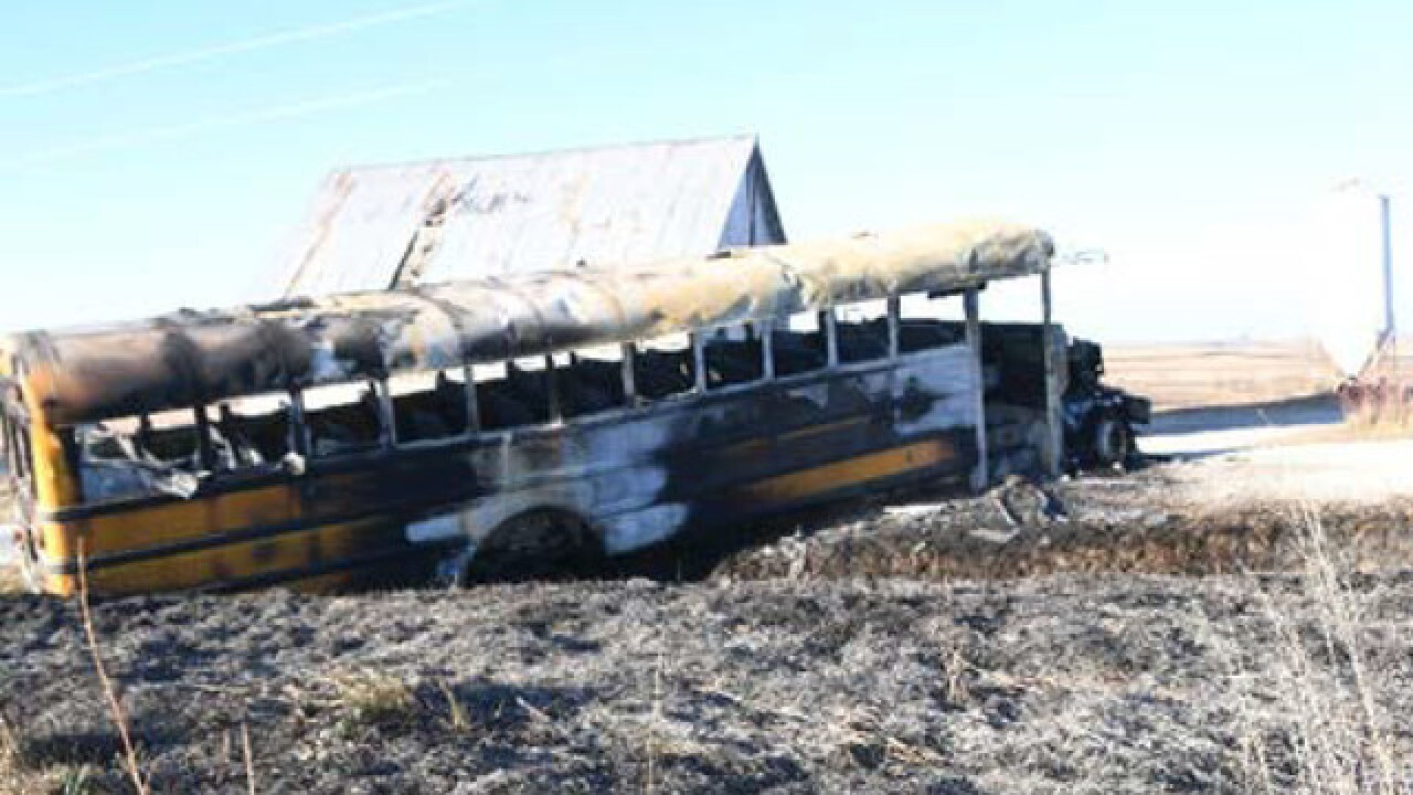 Fatal school bus fire spread from engine, NTSB r