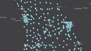 Missouri COVID-19 vaccine map