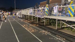 Emotional vigil for Mervo Football player Elijah Gorham