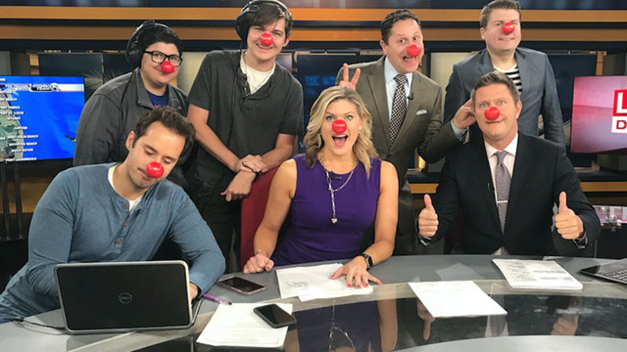 'Red Nose Day' campaign to end child poverty on WPTV tonight