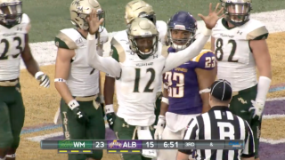 Albany clips William & Mary football in conference opener
