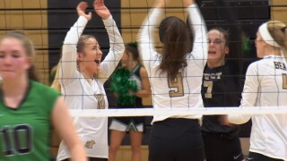 Billings West Playoff Volleyball