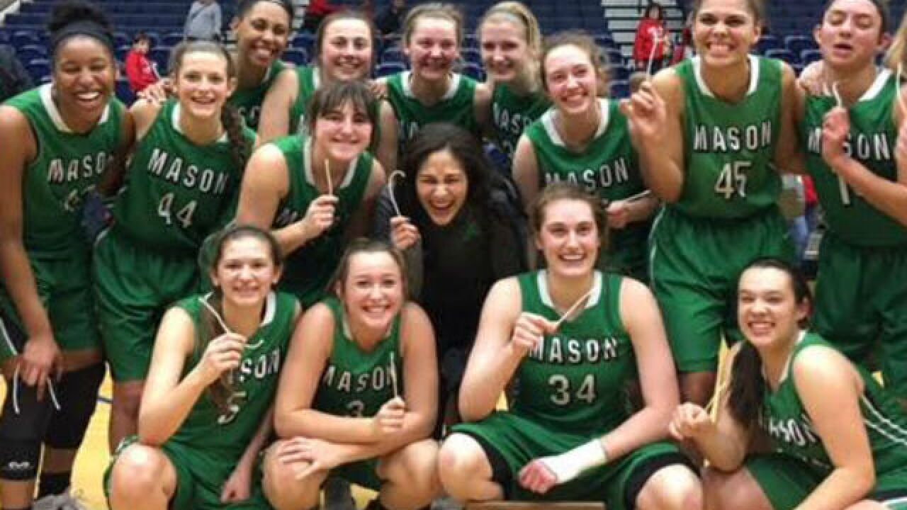 Mason two wins away from state title