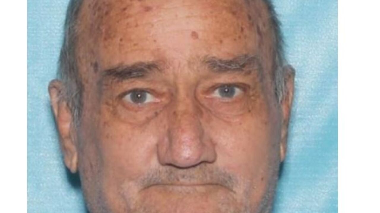 According to the Arizona Department of Public Safety, Denton Gale Randall was last seen at 3 p.m. Wednesday. DPS has issued a Silver Alert. Photo via Arizona DPS.