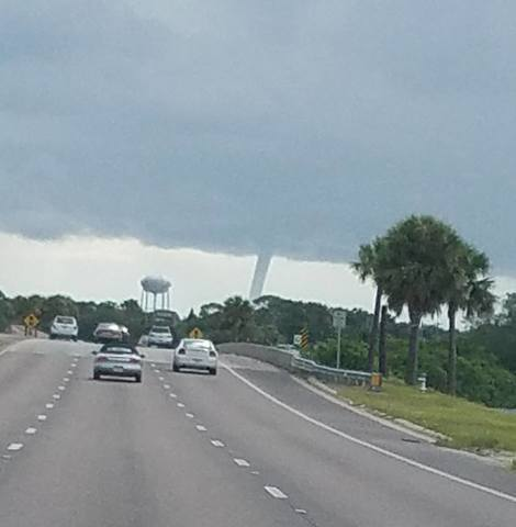 PHOTOS   Waterspout pops up in Manatee County