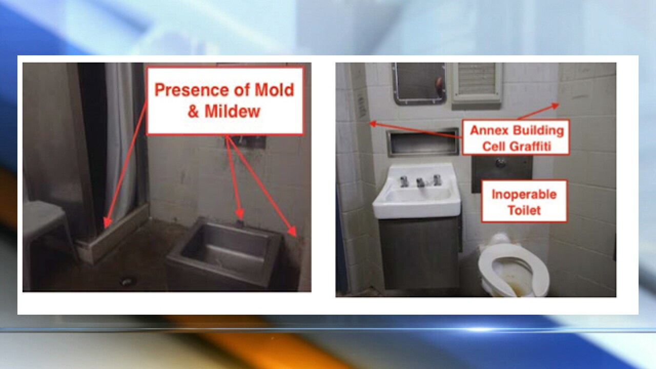 Grand jury report outlines poor jail conditions