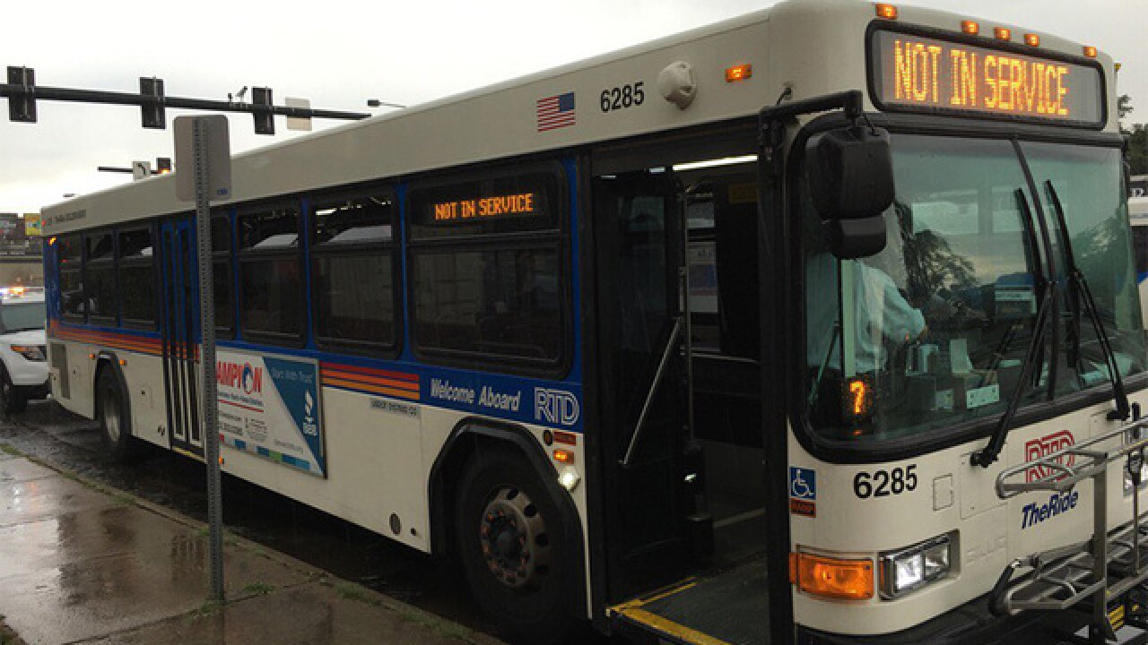 NOT IN SERVICE: RTD bus driver shortage affecting certain routes