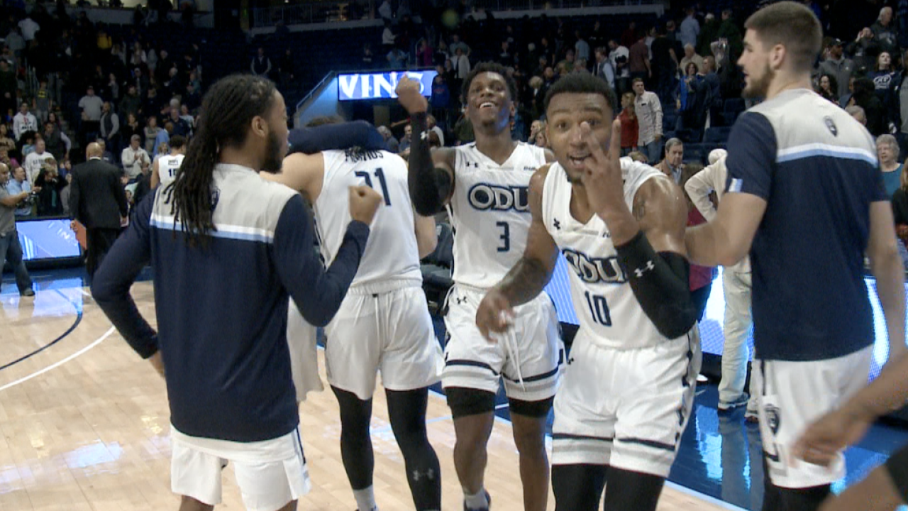ODU men's basketball team outlasts UAB, starts Conference USA play2-and-0