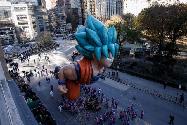 Photos: Macy's Thanksgiving Day Parade 2018