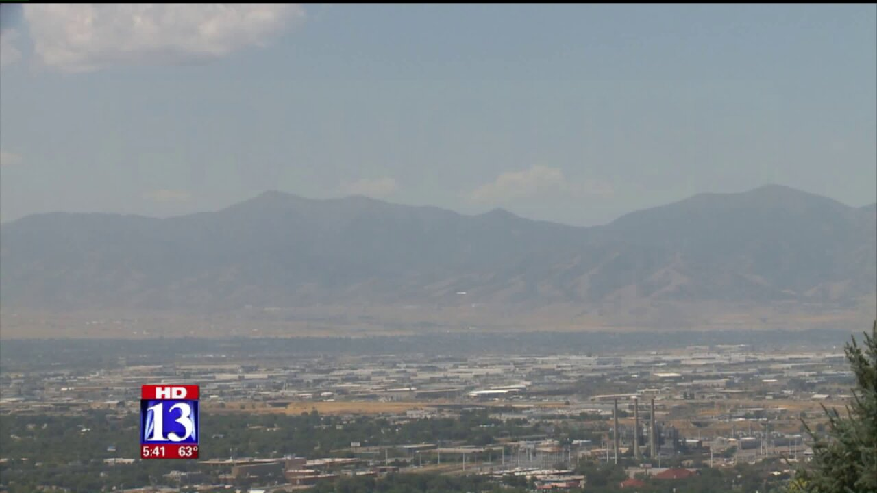 Utah DEQ asks public to take note of summer airquality