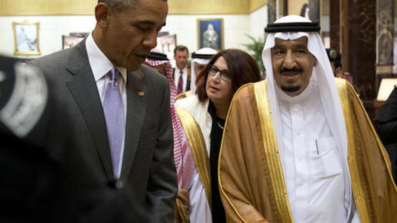 Obama meets Gulf allies in Saudi Arabia
