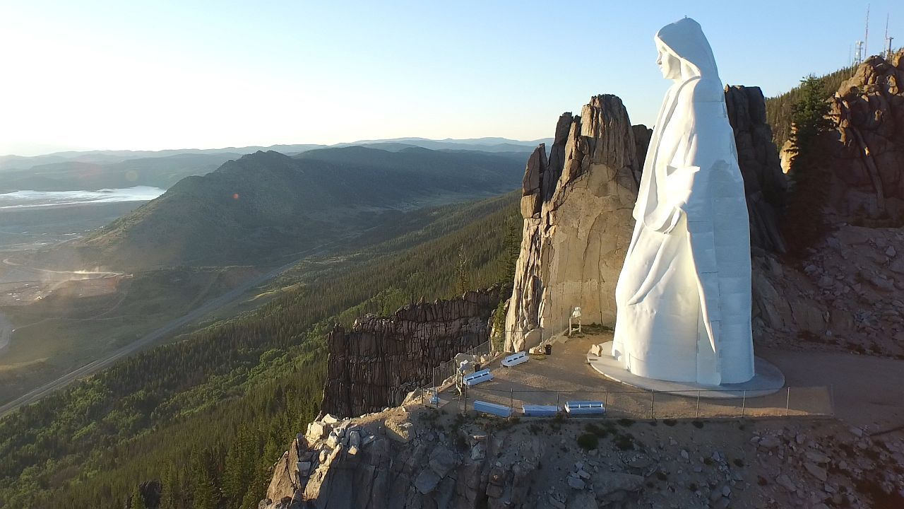 Our Lady Of The Rockies near Butte