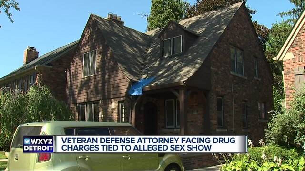 Attorney facing drug charges after 'sex party'