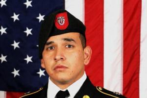 Sgt. 1st Class Javier Jaguar Gutierrez, 28, of San Antonio, Texas