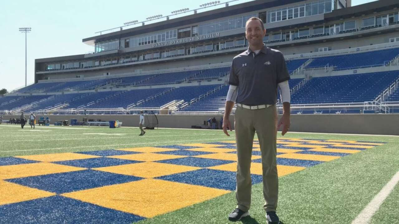 Montana State athletic director Leon Costello 'emotional' being back at South Dakota State