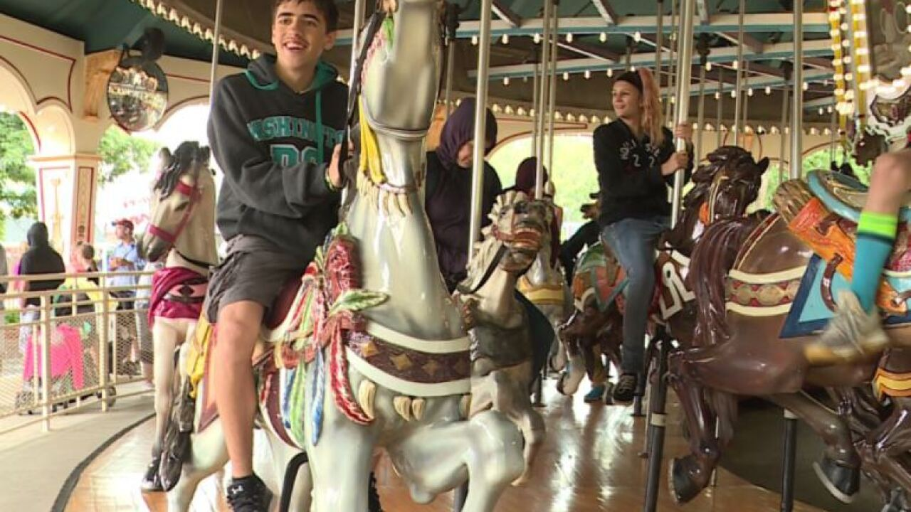 'Ride that you never forget:' King's Dominion carousel celebrating 100years