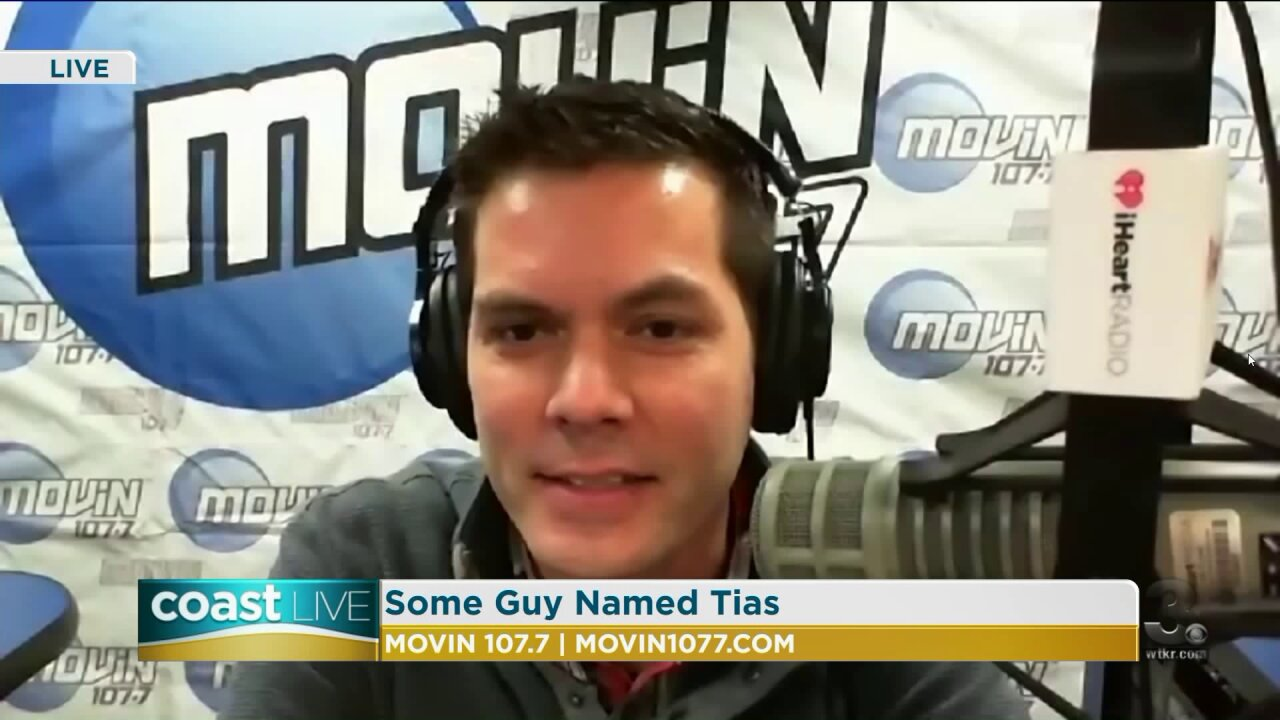 """Music news with """"Some Guy Named Tias"""" from MOVin 107.7 on CoastLive"""