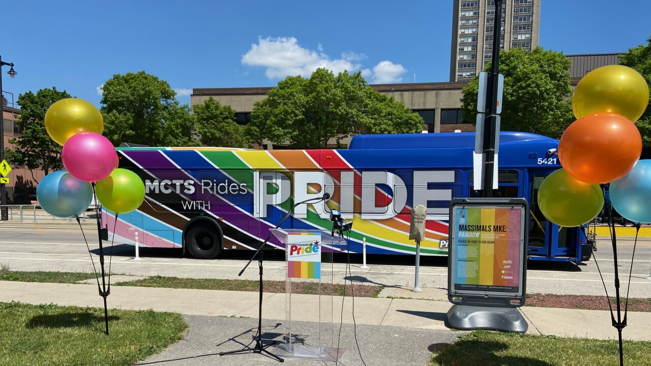 MCTS Pride Bus