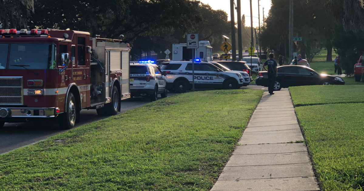 Body found in trunk of burning car, St. Pete Police say