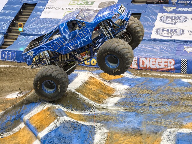 Monster trucks and the adorable kids who love them